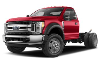 2020 Ford F-600 Chassis - Race Red