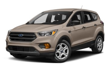 2017 Ford Escape - White Gold