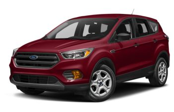 2017 Ford Escape - Ruby Red Metallic Tinted Clearcoat