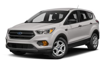 2017 Ford Escape - White Platinum Metallic Tri-Coat