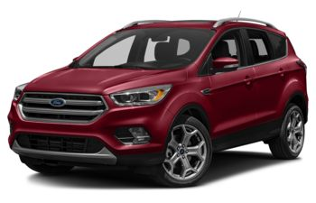 2018 Ford Escape - Ruby Red Metallic Tinted Clearcoat