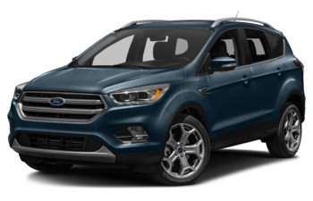 2018 Ford Escape - Blue Metallic
