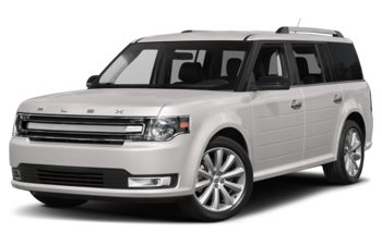 2018 Ford Flex - White Platinum Metallic Tri-Coat