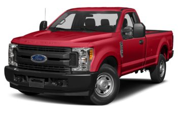 2018 Ford F-350 - Race Red