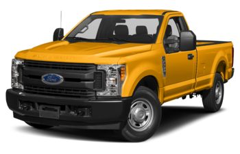 2019 Ford F-350 - School Bus Yellow