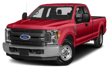 2018 Ford F-250 - Race Red