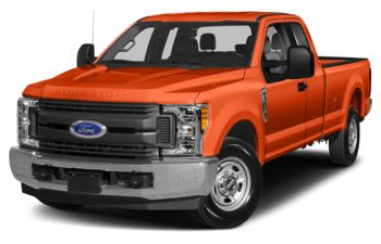2019 Ford F-250 - Orange