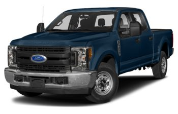 2018 Ford F-250 - Blue Jeans Metallic