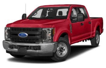 2019 Ford F-250 - Race Red