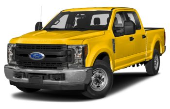 2019 Ford F-250 - Yellow
