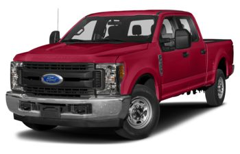 2019 Ford F-250 - Vermillion Red