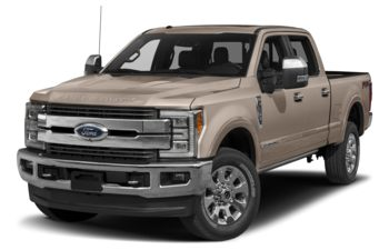 2017 Ford F-350 - White Gold Metallic