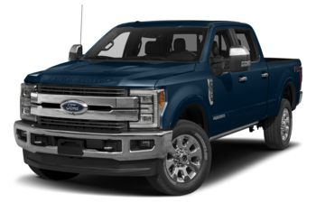 2017 Ford F-350 - Blue Jeans Metallic