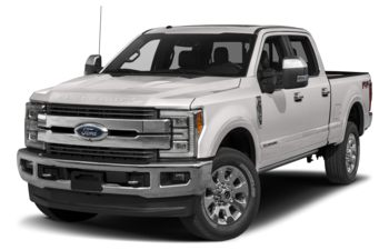 2017 Ford F-350 - White Platinum Tri-Coat Metallic