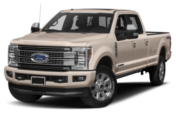 2018 Ford F-350 - White Gold Metallic