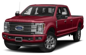 2017 Ford F-250 - Ruby Red Tinted Clearcoat