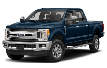 2019 Ford F-350 - Blue Jeans Metallic