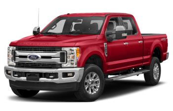 2017 Ford F-350 - Race Red