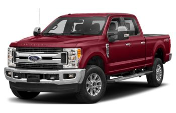 2018 Ford F-250 - Ruby Red Metallic Tinted Clearcoat