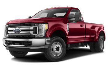 2017 Ford F-350 - Ruby Red Tinted Clearcoat