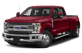 2018 Ford F-350 - Ruby Red Tinted Clearcoat