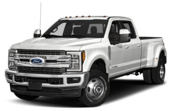 2017 Ford F-350 - Oxford White