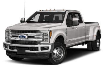 2017 Ford F-350 - White Platinum Tri-Coat Metallic