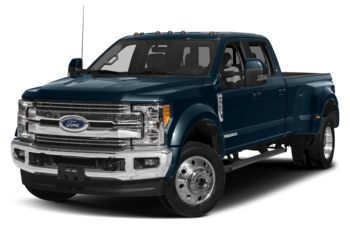 2018 Ford F-450 - Blue Jeans Metallic