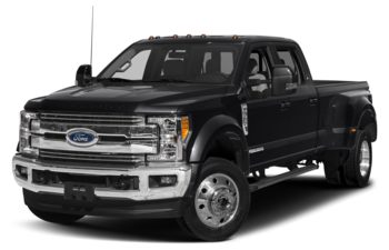 2018 Ford F-450 - Shadow Black