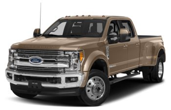 2018 Ford F-450 - White Gold Metallic