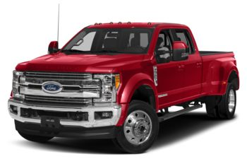 2019 Ford F-450 - Race Red