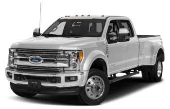 2018 Ford F-450 - Oxford White
