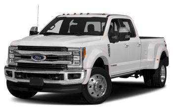 2018 Ford F-450 - White Platinum Tri-Coat Metallic