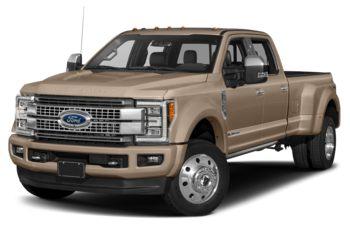 2018 Ford F-450 - White Gold Metallic