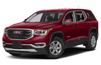 2019 GMC Acadia - Red Quartz Tintcoat