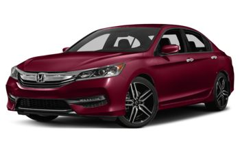 2017 Honda Accord - San Marino Red