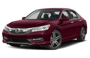 2017 Honda Accord - Basque Red Pearl II