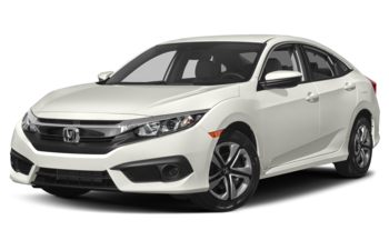 2017 Honda Civic - Taffeta White