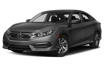 2017 Honda Civic - Modern Steel Metallic