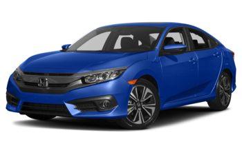 2017 Honda Civic - Aegean Blue Metallic