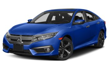 2017 Honda Civic - Aegean Blue Metallic