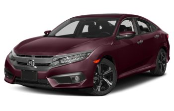 2017 Honda Civic - Burgundy Night Pearl