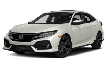2017 Honda Civic Hatchback - White Orchid Pearl