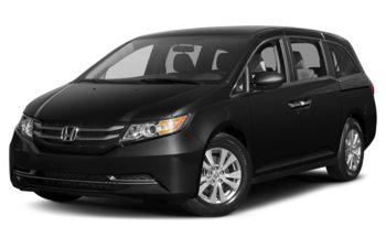 2017 Honda Odyssey - Crystal Black Pearl