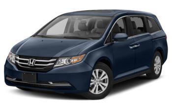 2017 Honda Odyssey - Obsidian Blue Pearl