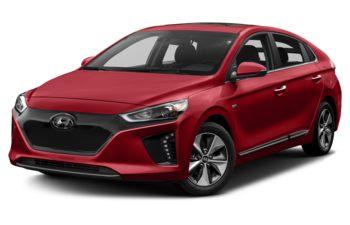 2018 Hyundai Ioniq EV - Fiery Red Pearl