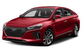 2018 Hyundai Ioniq Hybrid - Fiery Red Pearl