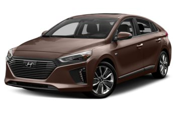 2017 Hyundai Ioniq Hybrid - Phoenix Orange Pearl