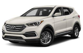2018 Hyundai Santa Fe Sport - Frost White