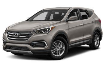 2018 Hyundai Santa Fe Sport - Titanium Silver